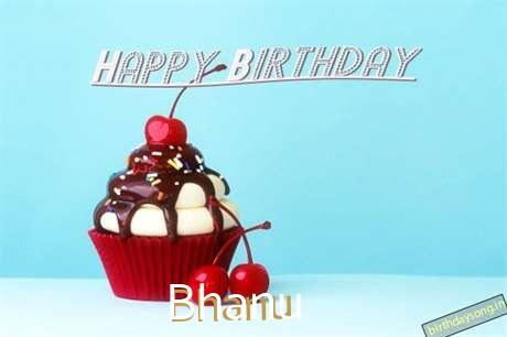 Happy Birthday Bhanu Cake Image