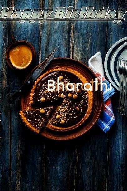 Happy Birthday Cake for Bharathi