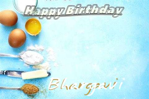 Happy Birthday Cake for Bhargavi