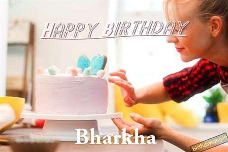 Happy Birthday Bharkha Cake Image