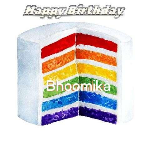 Happy Birthday Bhoomika Cake Image
