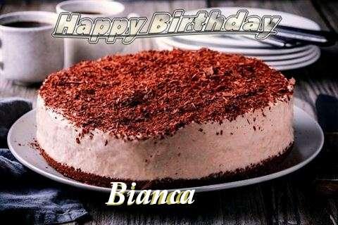 Happy Birthday Cake for Bianca