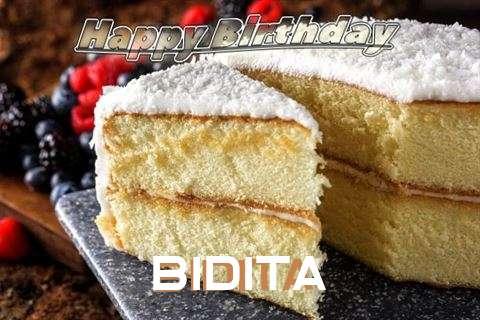 Birthday Images for Bidita