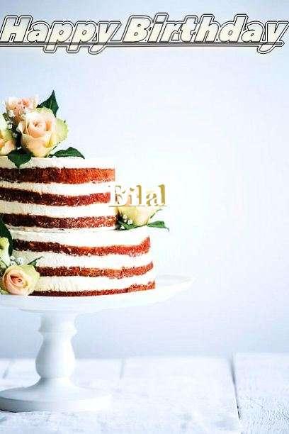 Happy Birthday Bilal Cake Image