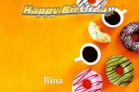 Happy Birthday Bina