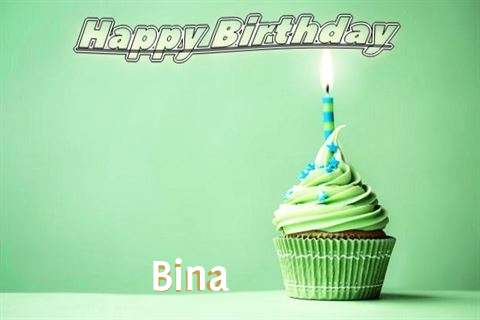 Happy Birthday Wishes for Bina