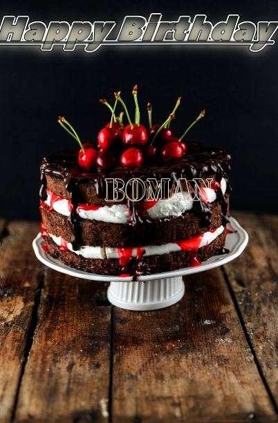Happy Birthday Boman