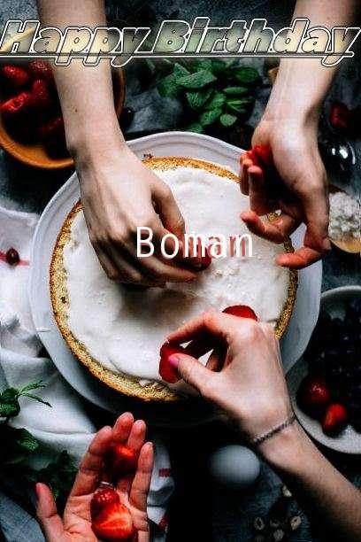 Boman Birthday Celebration