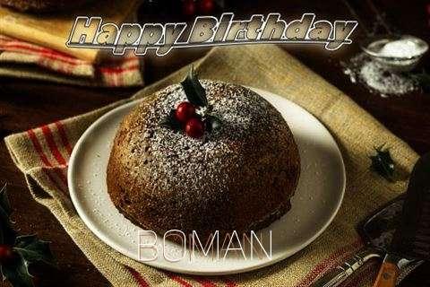 Wish Boman
