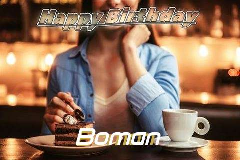 Happy Birthday Cake for Boman