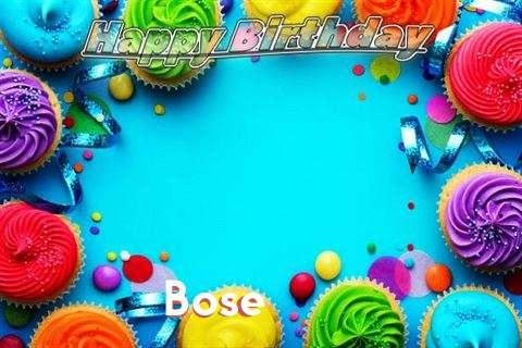 Bose Cakes