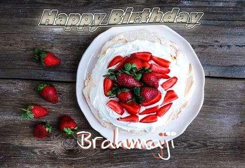 Happy Birthday Brahmaji Cake Image