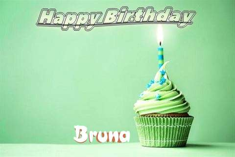Happy Birthday Wishes for Bruna