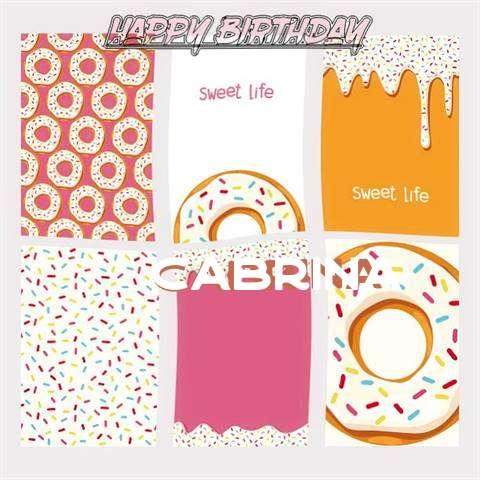 Happy Birthday Cake for Cabrina