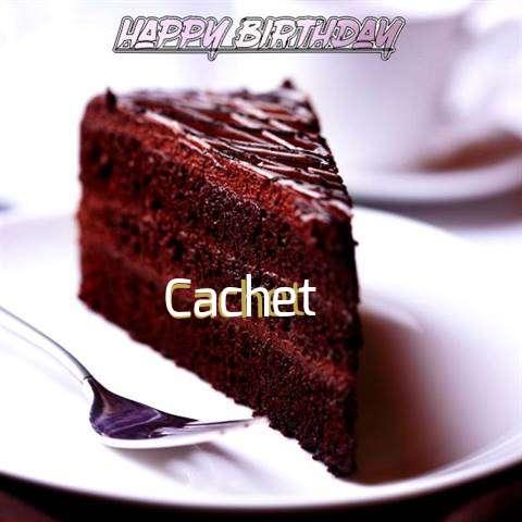 Happy Birthday Cachet