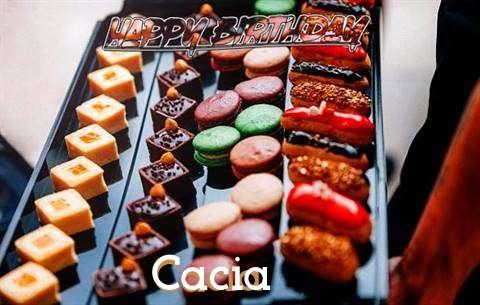 Happy Birthday Cacia