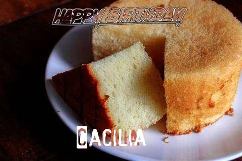 Happy Birthday to You Cacilia