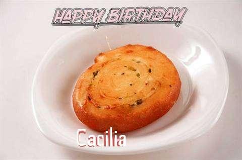 Happy Birthday Cake for Cacilia