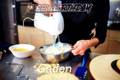 Happy Birthday Caden