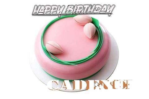 Happy Birthday Cake for Cadence