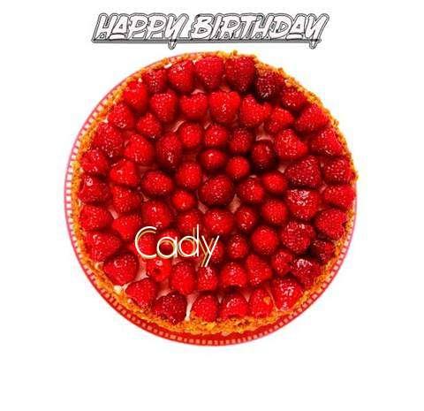 Happy Birthday to You Cady