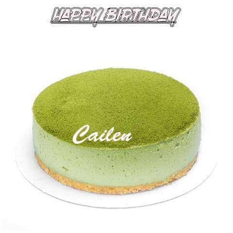 Happy Birthday Cake for Cailen