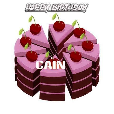 Happy Birthday Cake for Cain