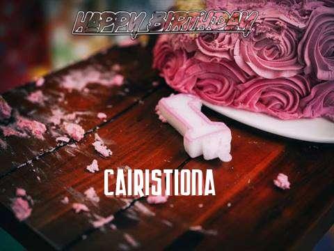 Cairistiona Birthday Celebration