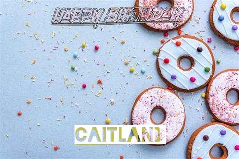 Happy Birthday Caitland Cake Image