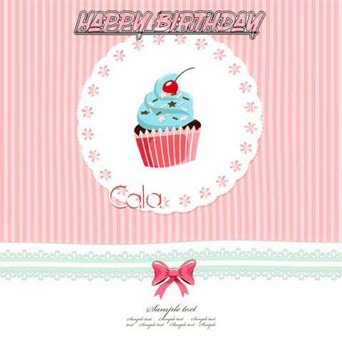 Happy Birthday to You Cala