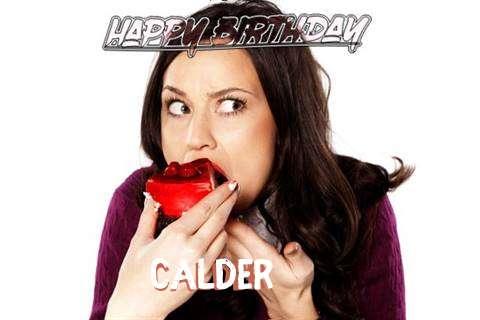 Happy Birthday Wishes for Calder