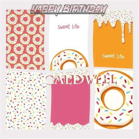 Happy Birthday Cake for Caldwell