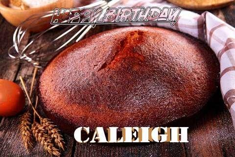 Happy Birthday Caleigh Cake Image