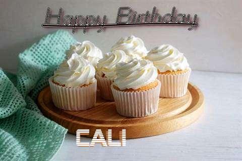 Happy Birthday Cali