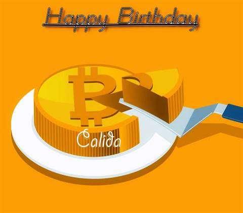 Happy Birthday Wishes for Calida