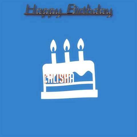 Birthday Wishes with Images of Calisha