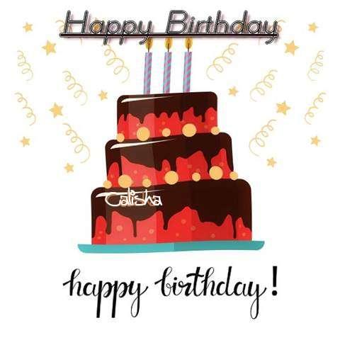 Happy Birthday Cake for Calisha