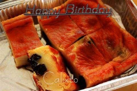 Happy Birthday Cake for Calixto