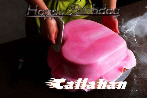 Happy Birthday Cake for Callahan