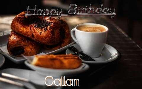 Happy Birthday Callan Cake Image