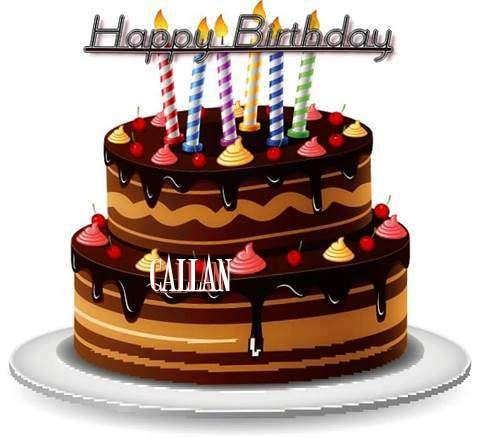 Happy Birthday to You Callan