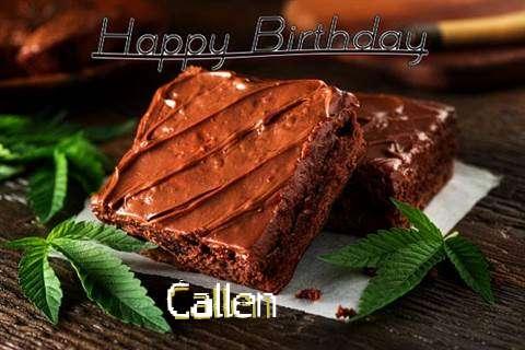 Happy Birthday Callen