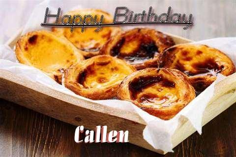 Happy Birthday Wishes for Callen