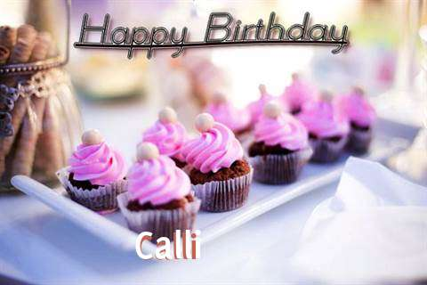Happy Birthday Calli