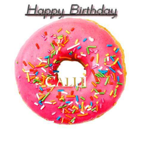 Happy Birthday Wishes for Calli
