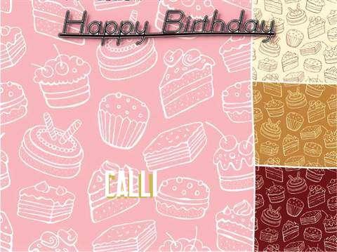Happy Birthday to You Calli