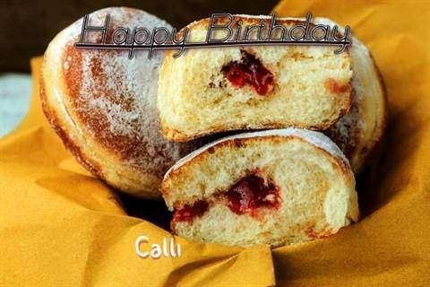 Happy Birthday Cake for Calli