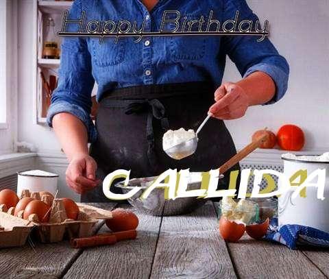 Happy Birthday to You Callida