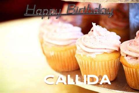 Happy Birthday Cake for Callida