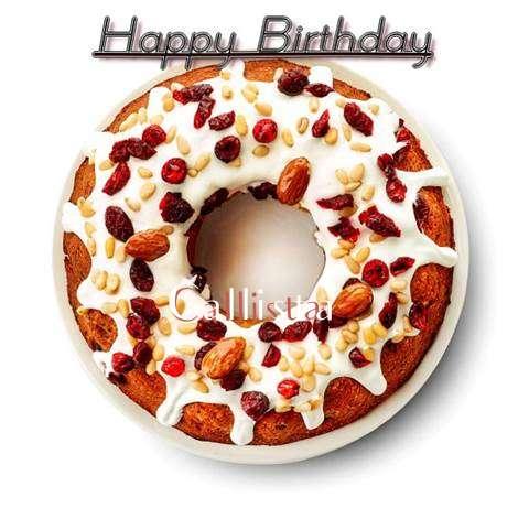 Happy Birthday Callista